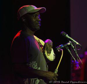 Skiru Adepoju with Mickey Hart Band
