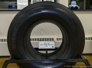 Space Shuttle Discovery Michelin Air Tire