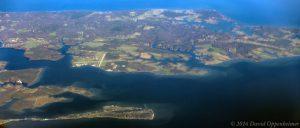 St. Inigoes, Maryland Aerial