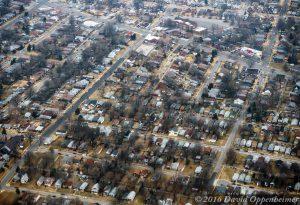 St. Louis Neighborhood Real Estate Aerial Photo