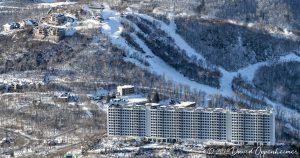 Sugar Top Resort and Sugar Mountain Resort Aerial