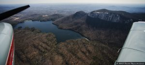 Table Rock Reservoir & Moutain in Table Rock State Park