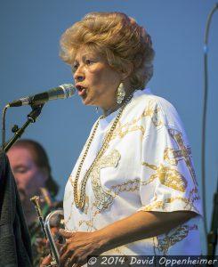 Cynthia Robinson with The Family Stone