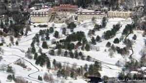 The Omni Grove Park Inn Aerial