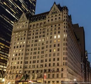 Plaza Hotel in NYC