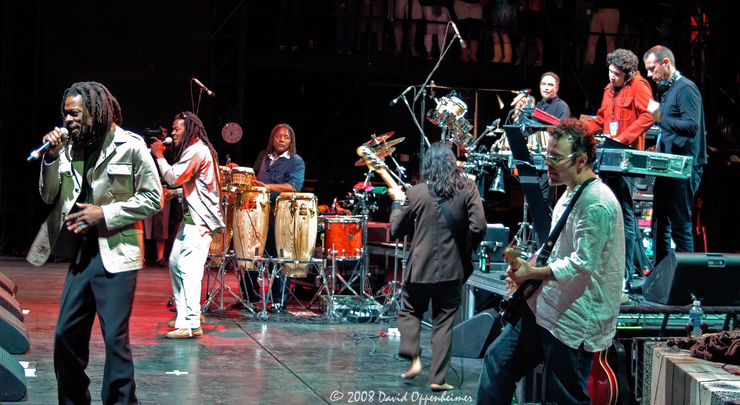 Thievery Corporation at Langerado Music Festival 2008