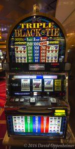 Triple Black Tie Slot Machine at Lumière Place Casino