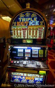 Triple Hot Ice Slot Machine at Lumière Place Casino