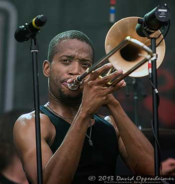 Trombone Shorty and Orleans Avenue at All Good Music Festival