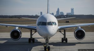 US Airways Jet Plane Prior to Merger with American Airlines