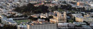 University of San Francisco Campus Aerial Photo