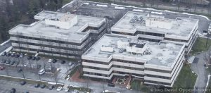 WHI Solutions Headquarters in Rye Brook, New York Aerial Photo