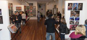 Warren Haynes Christmas Jam Art Show