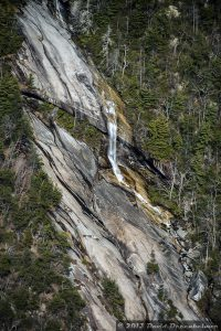 Waterfall in Table Rock State Park