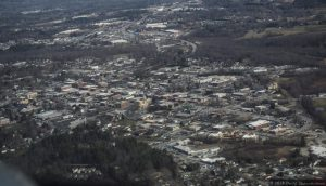 Aerial Photo of Waynesville, North Carolina