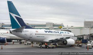 WestJet Airlines Boeing 737
