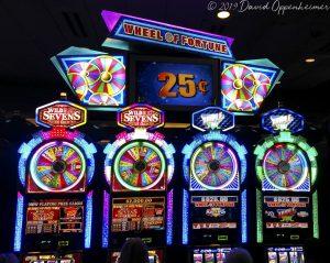 Wheel Of Fortune Slot Machines  at Harrah's Cherokee Casino Resort