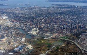 Whitestone Queens Aerial Photo in New York City