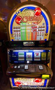 Wild Cherry Slot Machine at Lumière Place Casino