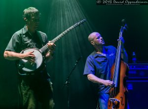 Dave Johnston and Ben Kaufmann with Yonder Mountain String Band