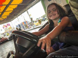 Bumper Cars at NC Mountain State Fair
