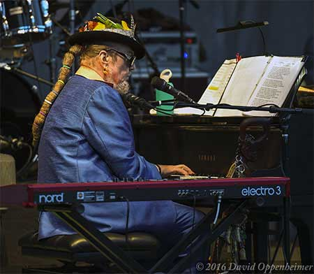 Dr. John and The Nitetrippers in Asheville 2015
