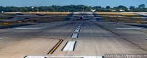 Runway at Hartsfield–Jackson Atlanta International Airport